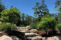 natural slab steps