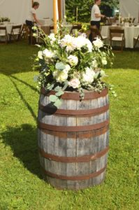 whiskey barrel accent